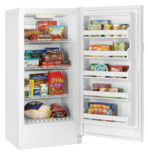 The Kenmore 28262 Upright Freezer Is Ideal For small Apartments