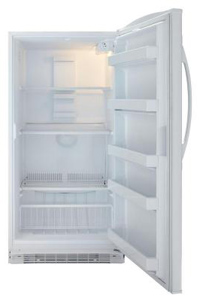 ft maytag upright freezers have textured steel cabinets and doors virtually assuring you of many years of reliable service - Upright Freezers